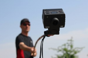 action camera su asta telescopica